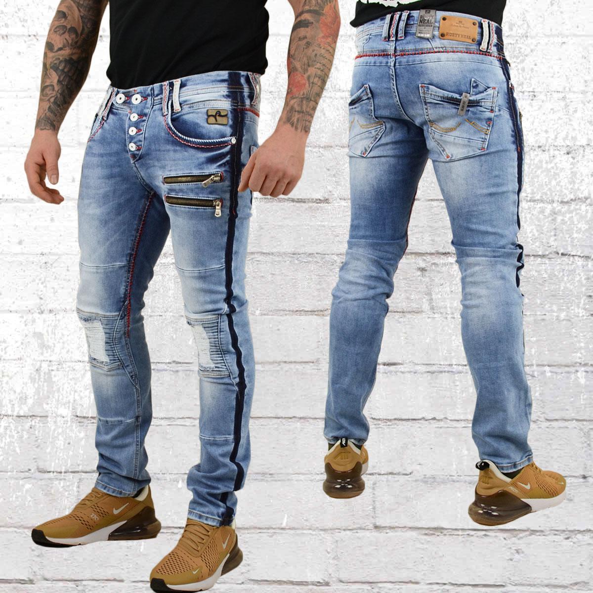 offizieller Shop schön billig Genieße den kostenlosen Versand Order now | Rusty Neal Mens Jeans Nelson One blue