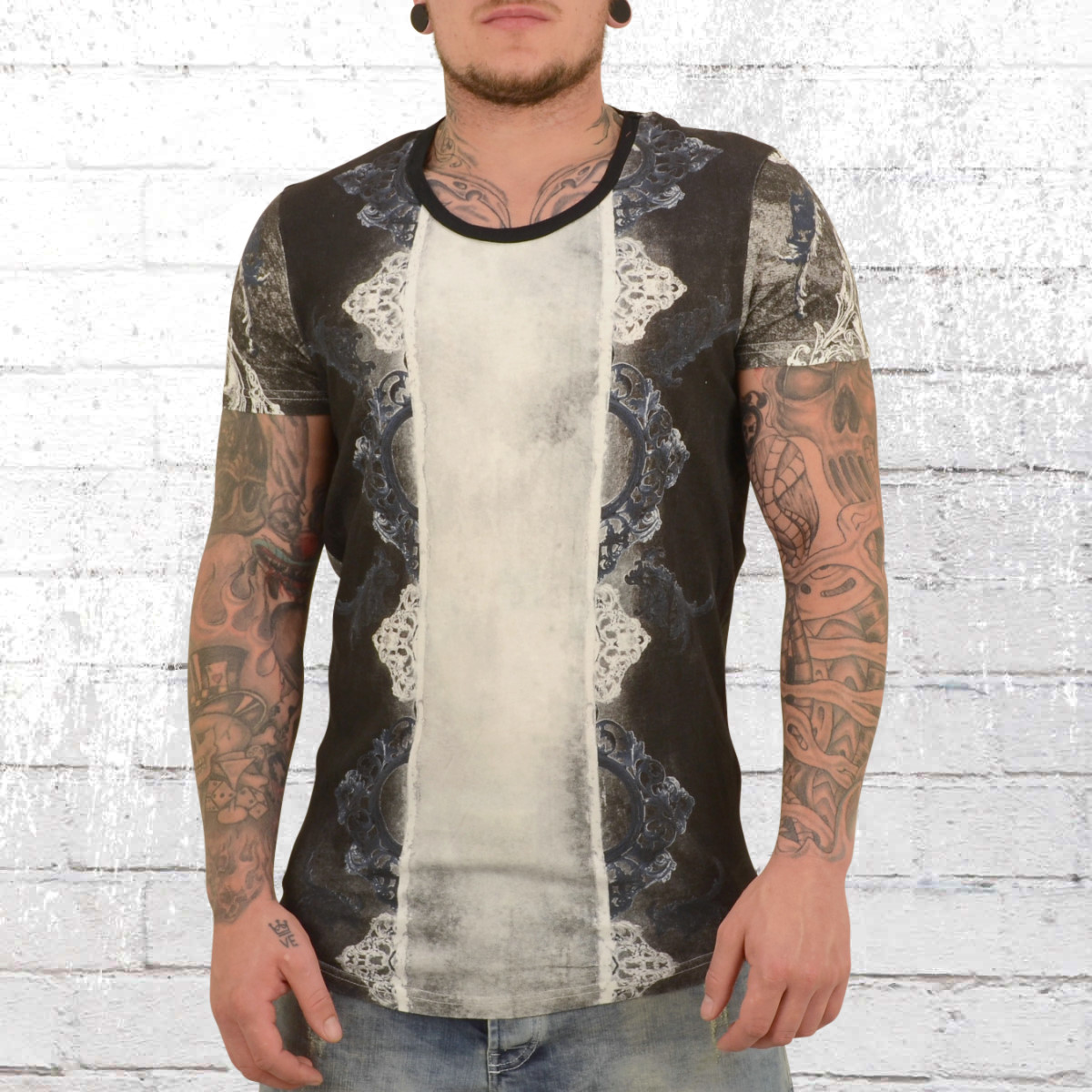 ac6373216afb Jetzt bestellen   Trueprodigy Herren T-Shirt Dynasty weiss schwarz ...