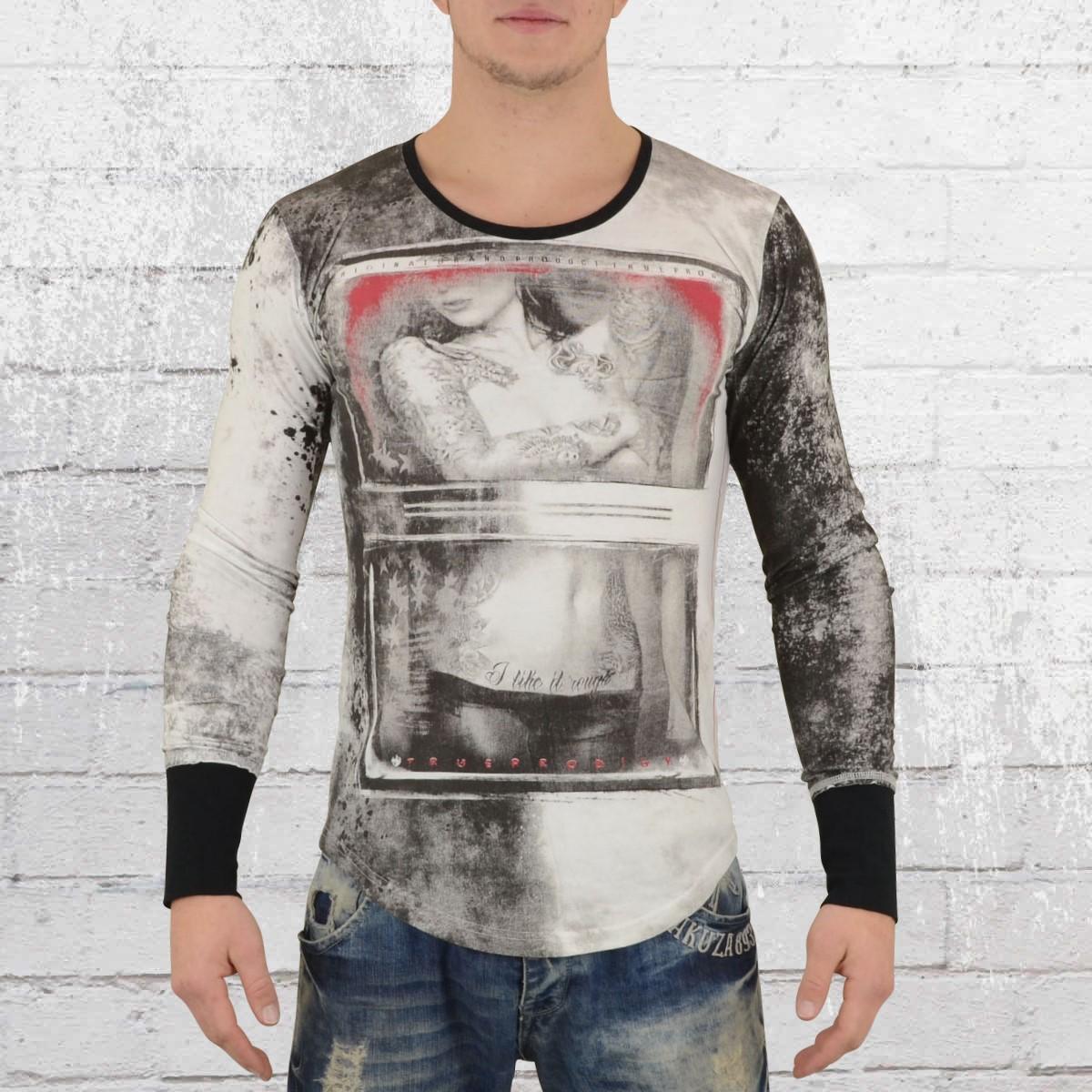 d7c123235a6a Jetzt bestellen   Trueprodigy Longsleeve Herren Langarm T-Shirt All ...