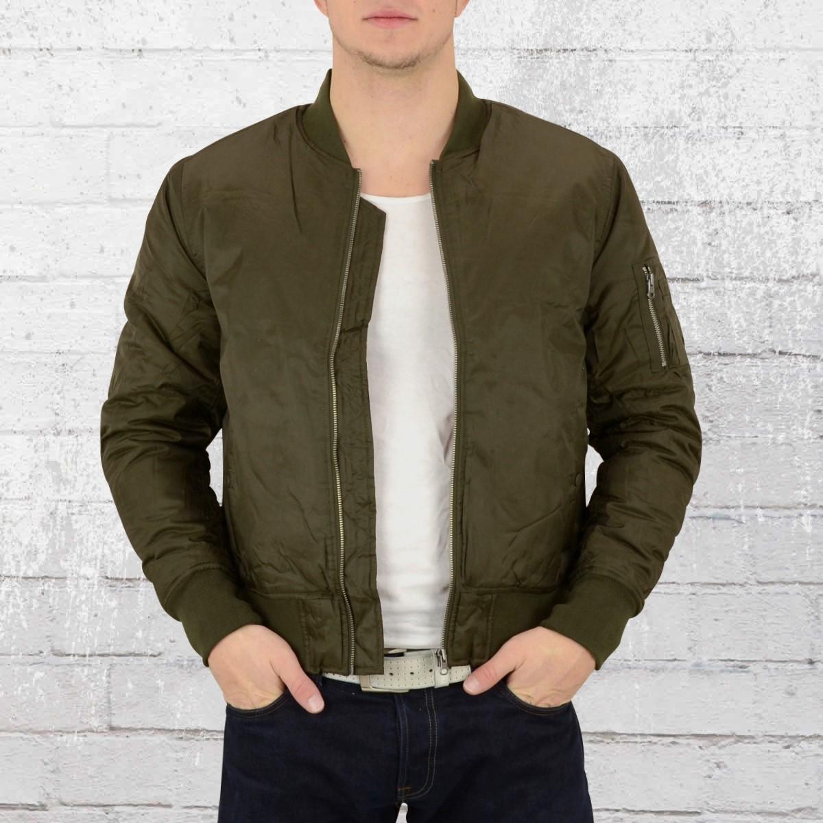 Olive Jacket Order Mens NowUrban Classics Bomber Dark thsrdQCx