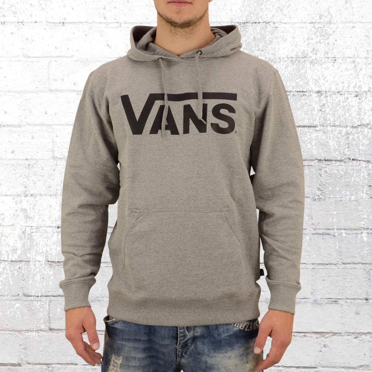 Jetzt bestellen | Vans Herren Kapuzen Sweatshirt Classic Hoody grau ...