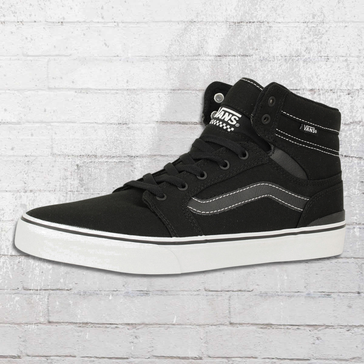 8b433c7ec8dbb Vans Knöchelschuhe Sanction Canvas High Top Sneaker schwarz. ›‹ «