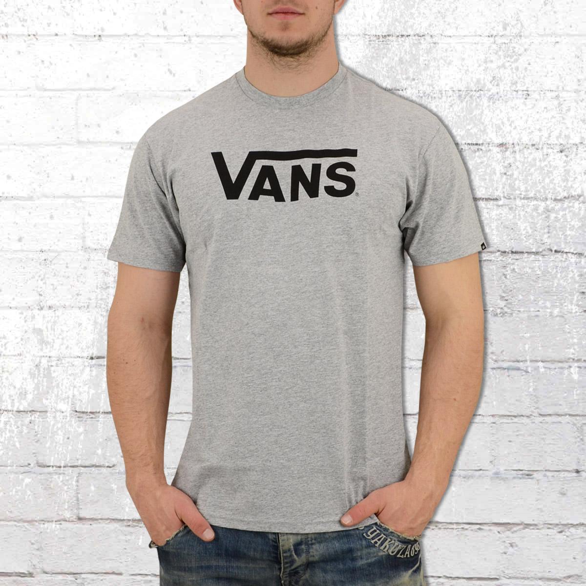 41c023cbc Order now | VANS Mens Classic Tee Shirt athletic grey heather black