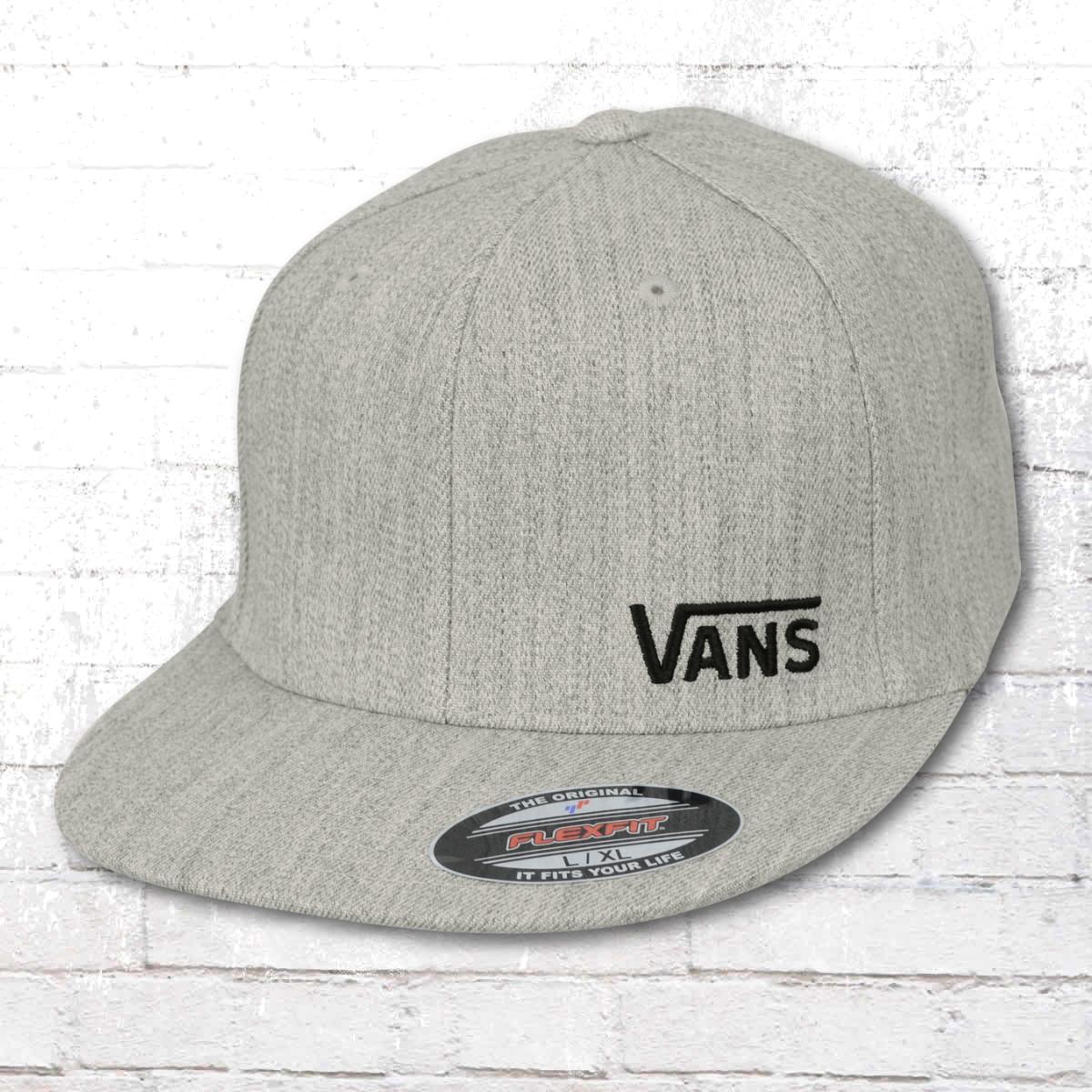 0addded9289 Vans Flexfit Cap Splitz grey melange ›‹. «