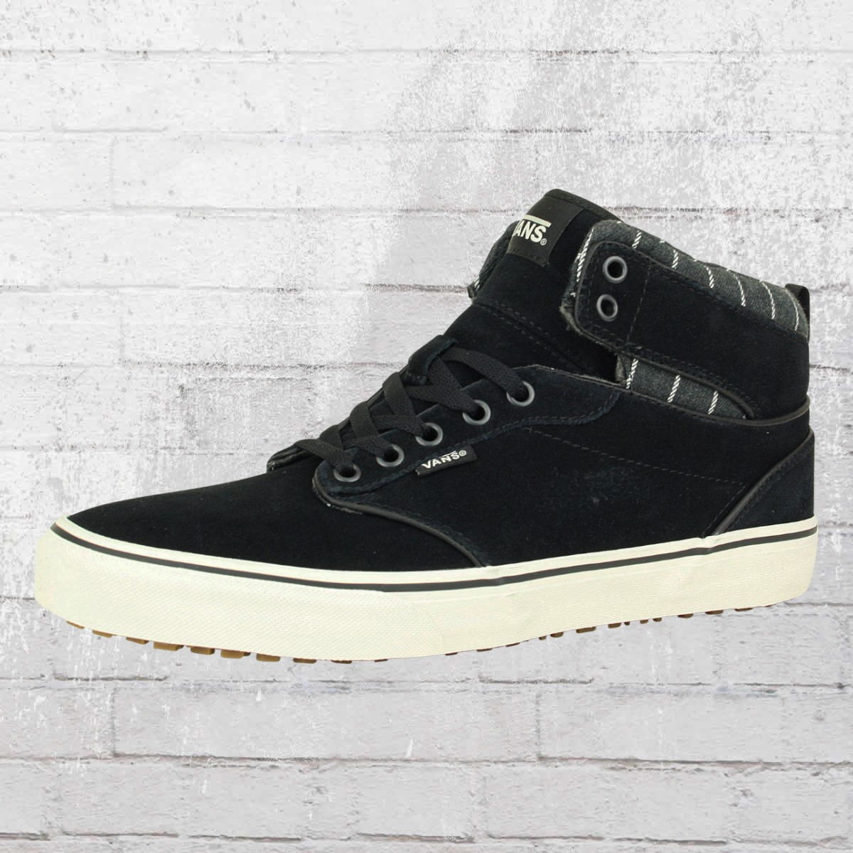 vans atwood sneaker schwarz