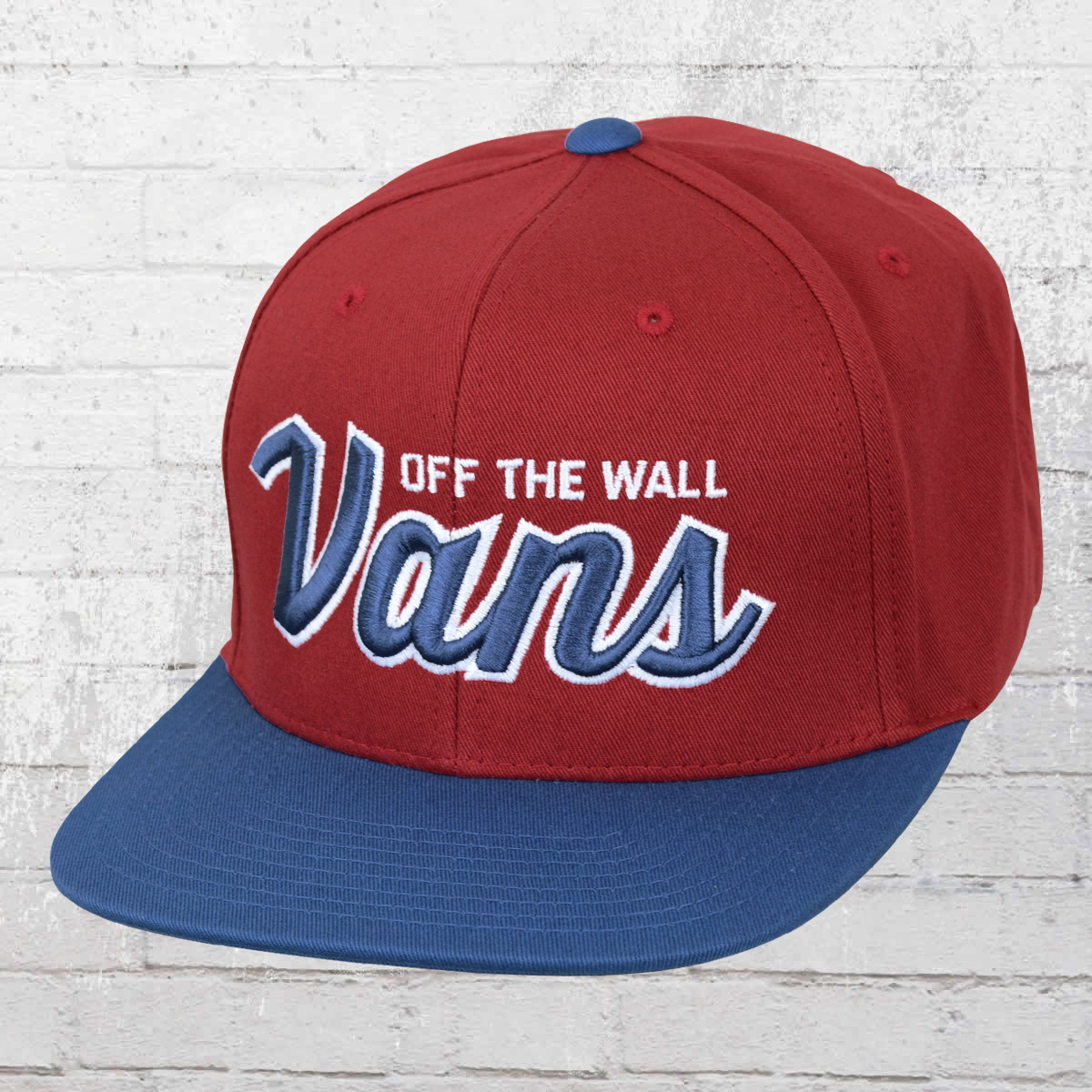 Vans Snapback Wilmington Cap red dahlia blue. ›‹ « 31f220adbe5