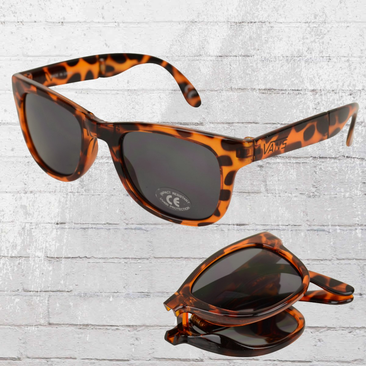 bf2333d470 VANS Sunglasses Foldable Spicoli translucent honey tortoise. ›‹ «