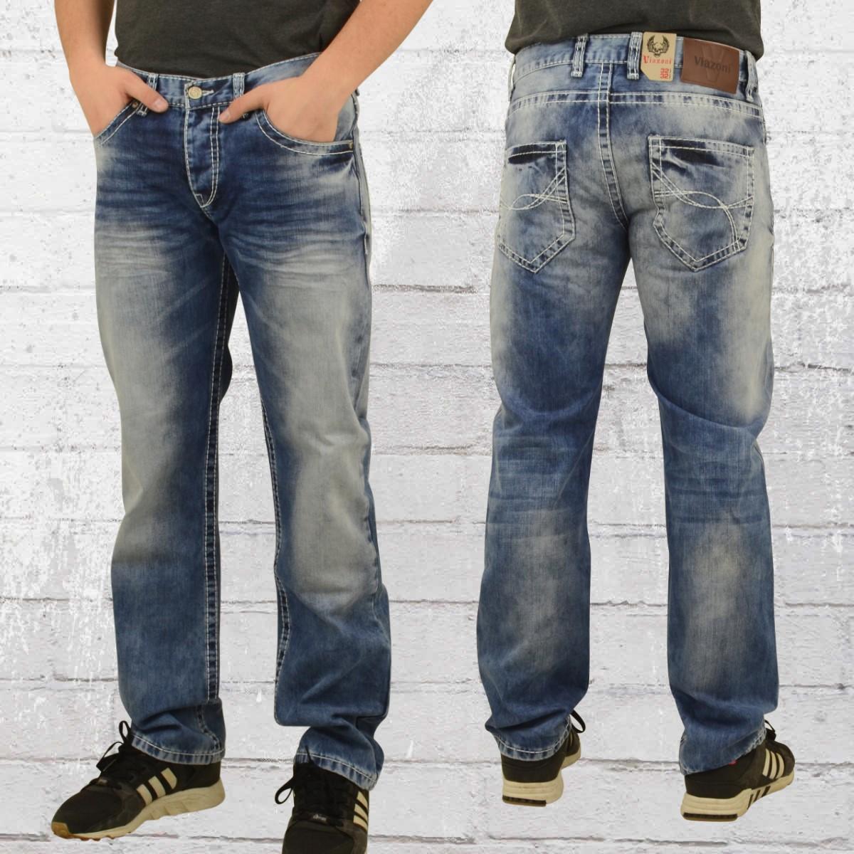jetzt bestellen viazoni m nner jeans hose hugo lima blau gewaschen krasse. Black Bedroom Furniture Sets. Home Design Ideas