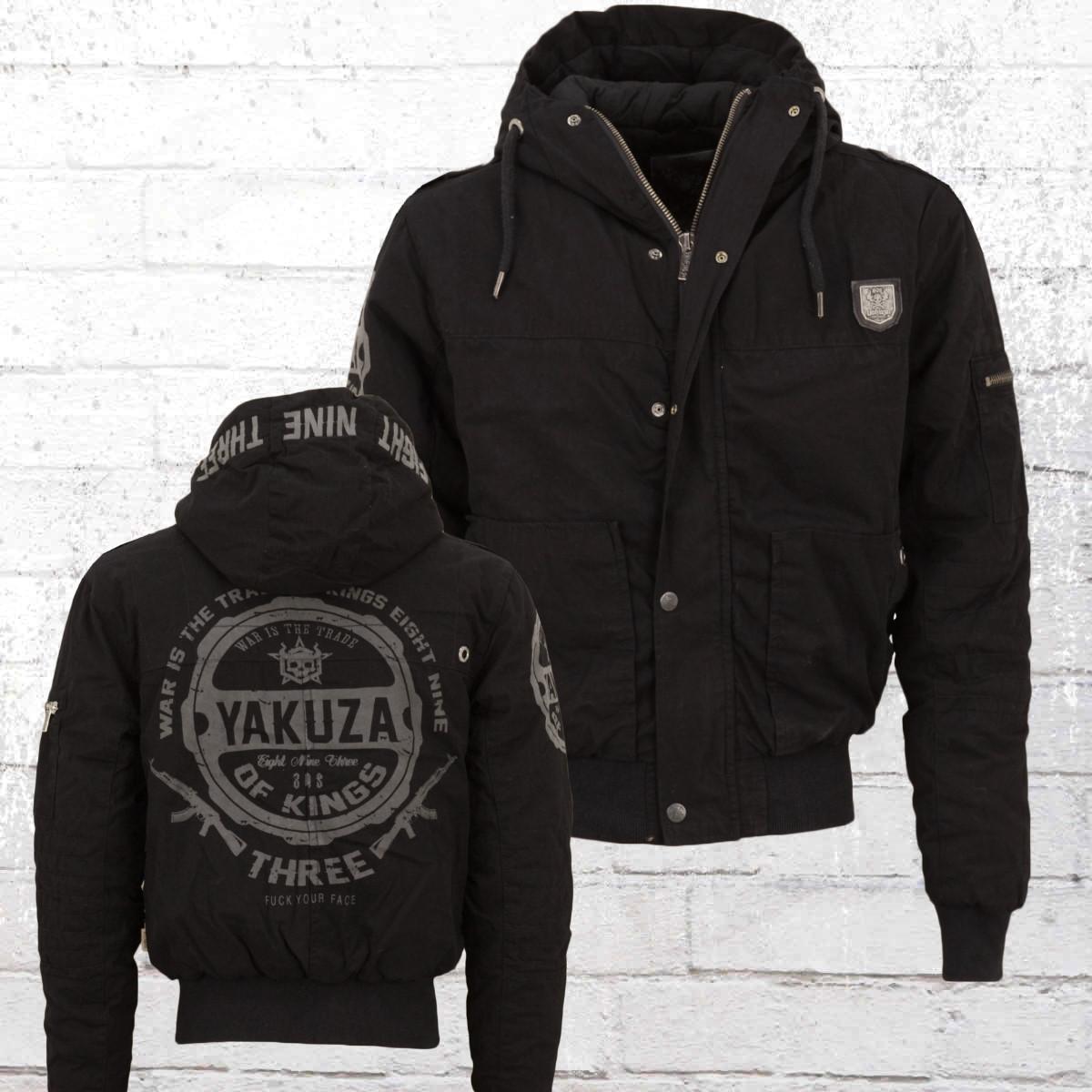 jetzt bestellen yakuza herren winter jacke trade of kings 11027 schwarz krasse. Black Bedroom Furniture Sets. Home Design Ideas
