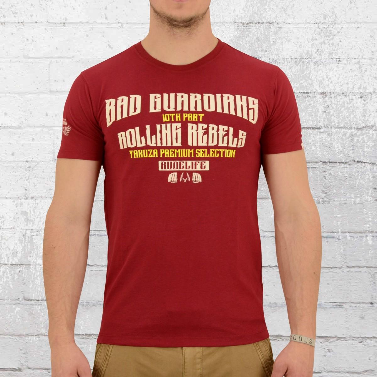 b824026a328 Yakuza Premium Mens T-Shirt Skull King 2208 red. ›‹ «