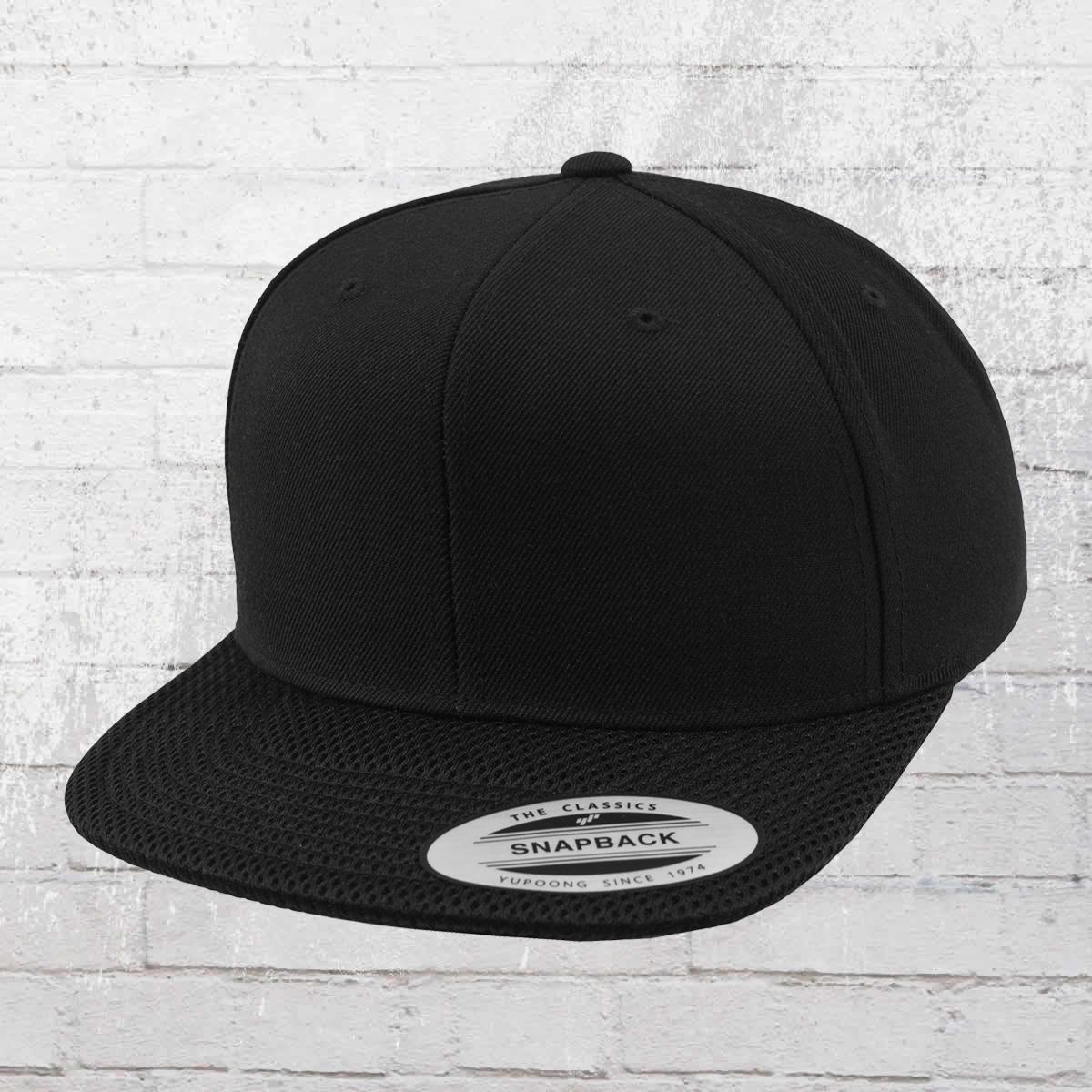 51e95aab0 Order now | Yupoong by Flexfit Mesh Visor Snapback Cap black