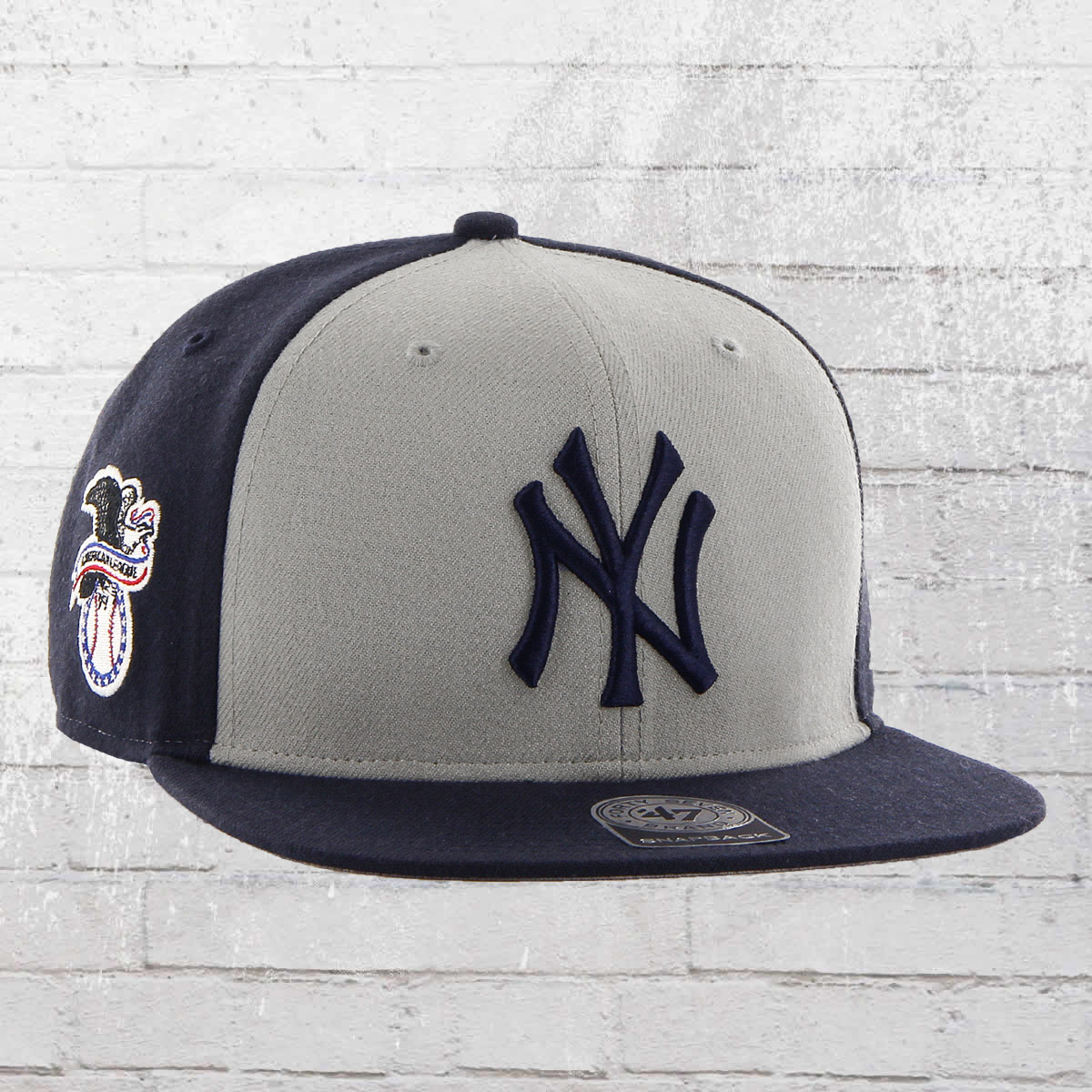 jetzt bestellen 47 brand mlb snapback cap new york. Black Bedroom Furniture Sets. Home Design Ideas
