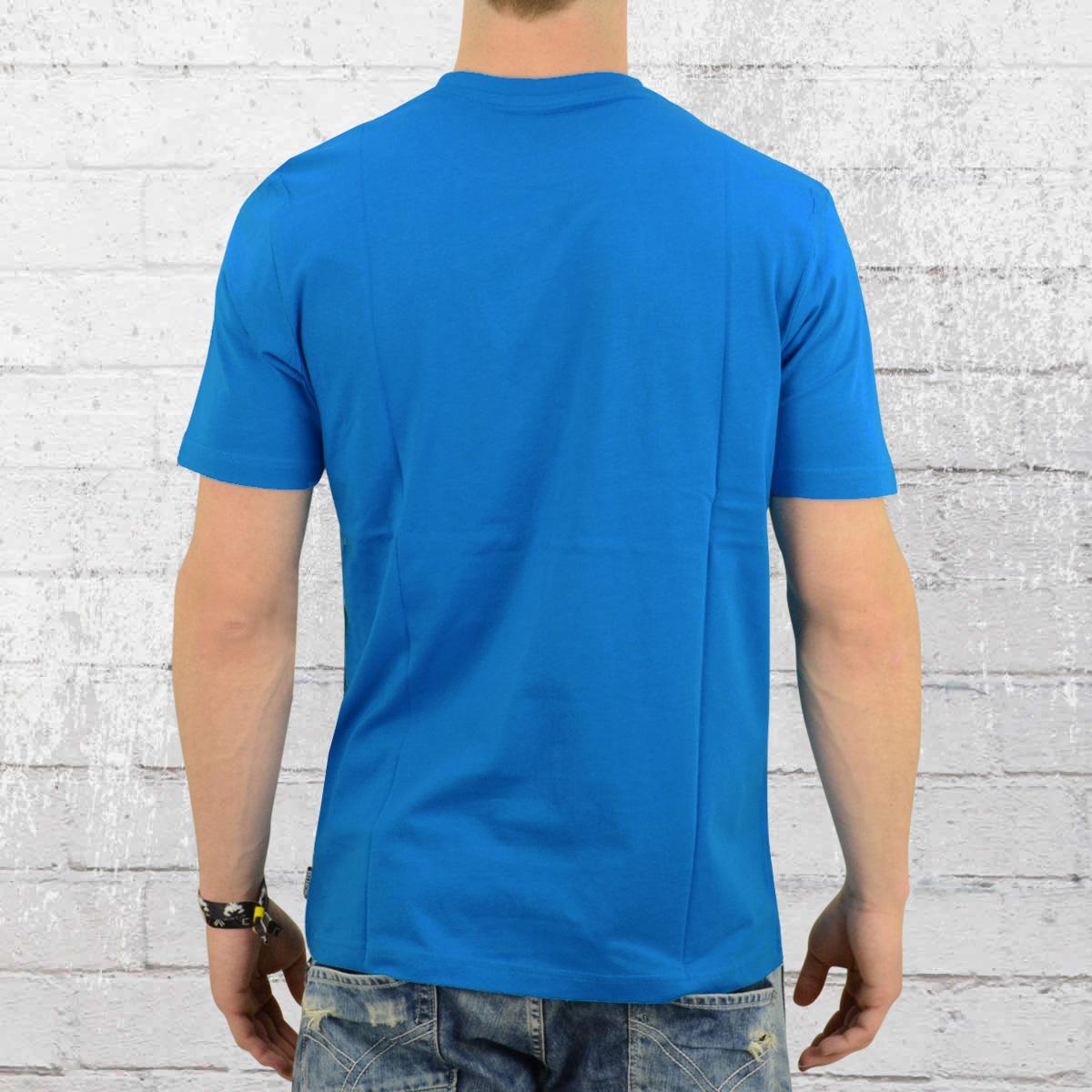 Order Now Billabong T Shirt Mens Scriptik Blue