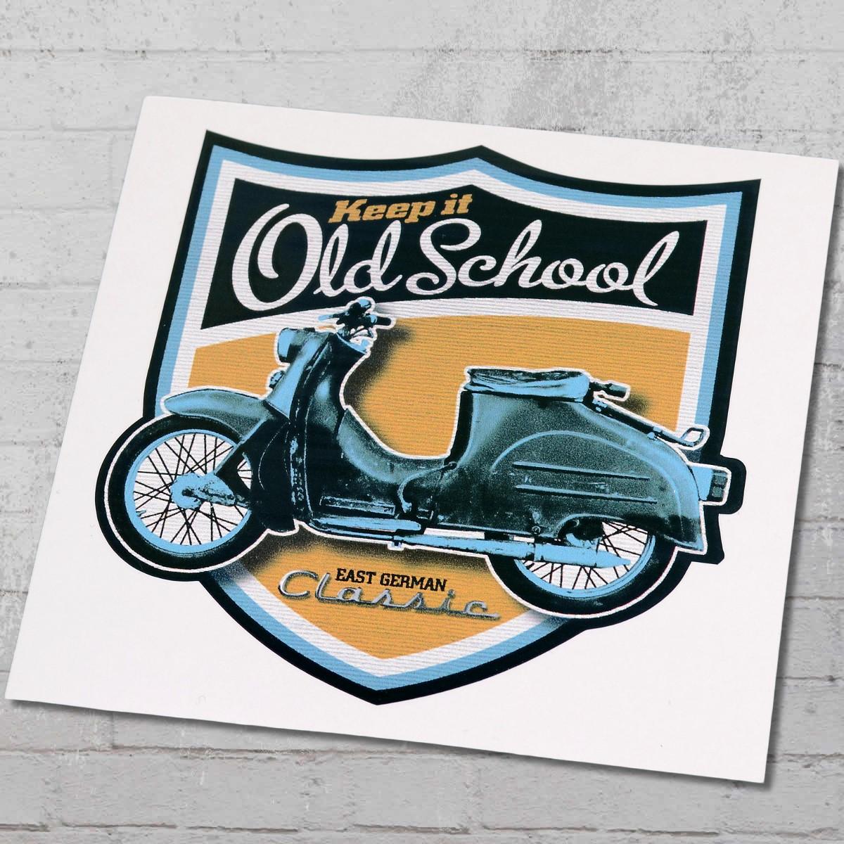 Order Now Bordstein Streetwear Sticker Kr 50 Old School Crest