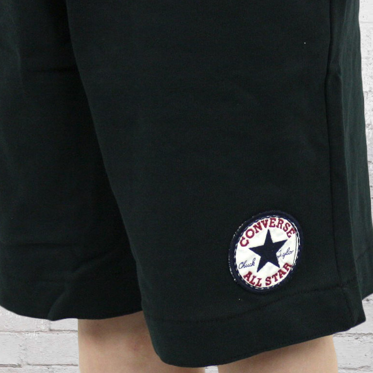 converse chuck patch shorts