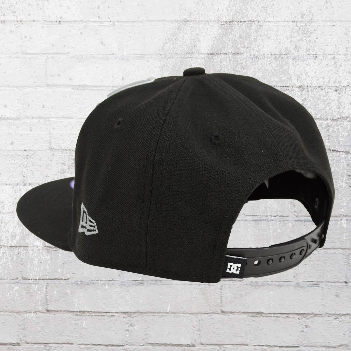 1508567c Order now | DC Shoes Kids Snapback New Era Hat Double Up Cap black grey
