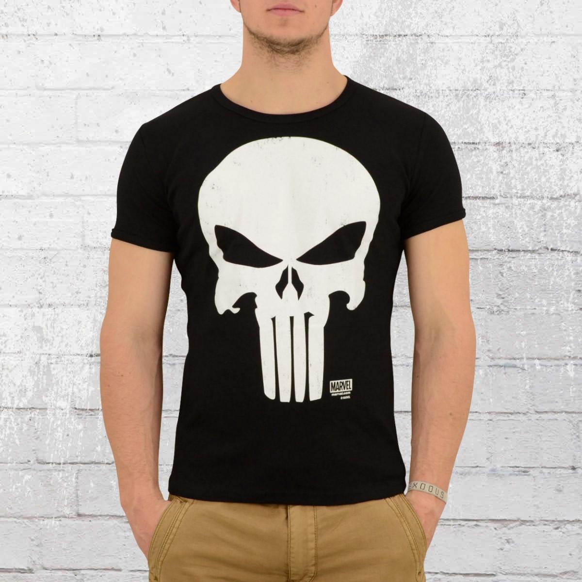 ce011b009 Marvel Comics Punisher No Sweat Mens Black T Shirt   Azərbaycan ...