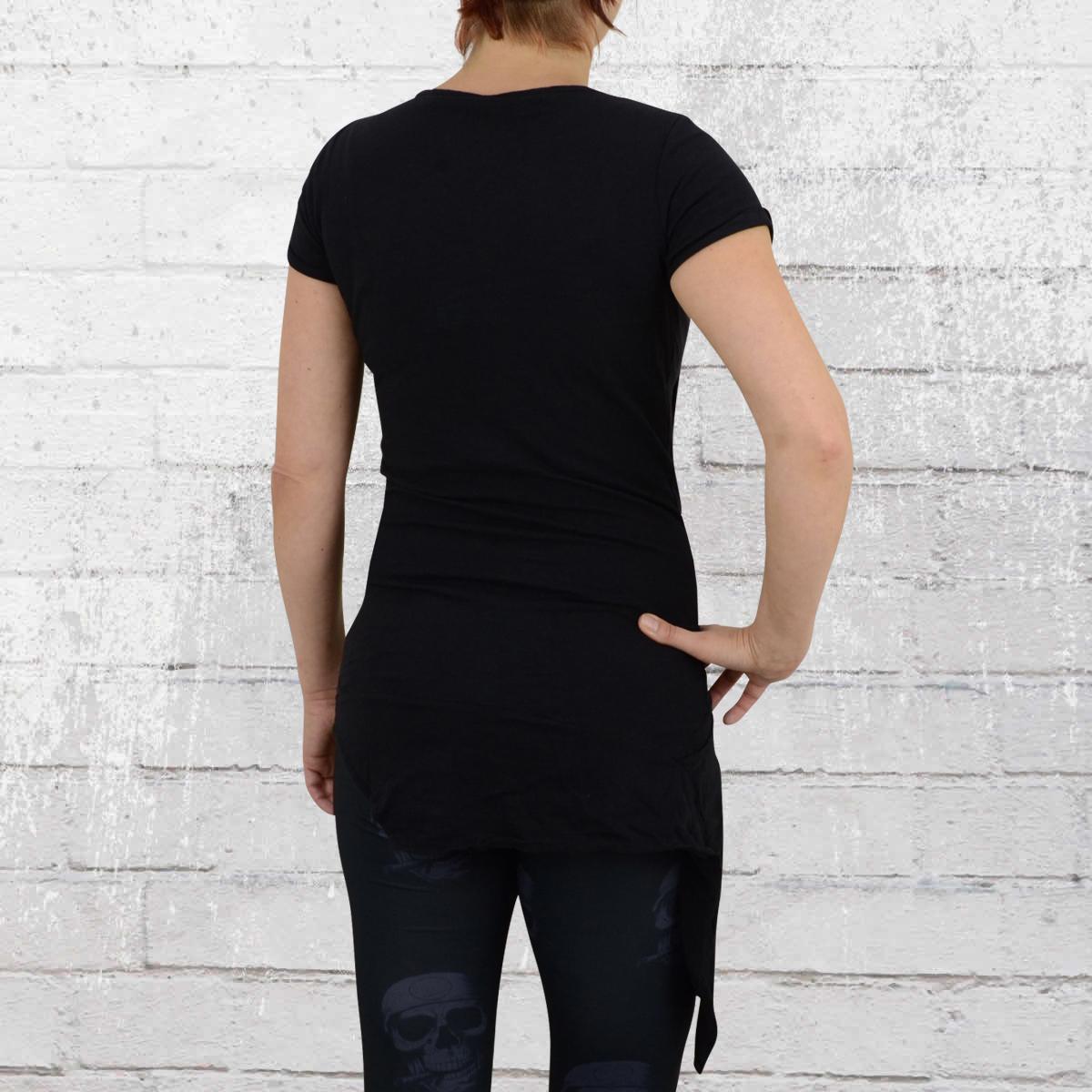 order now yakuza ladies longshirt se asoma wrap gsb 8107 black. Black Bedroom Furniture Sets. Home Design Ideas