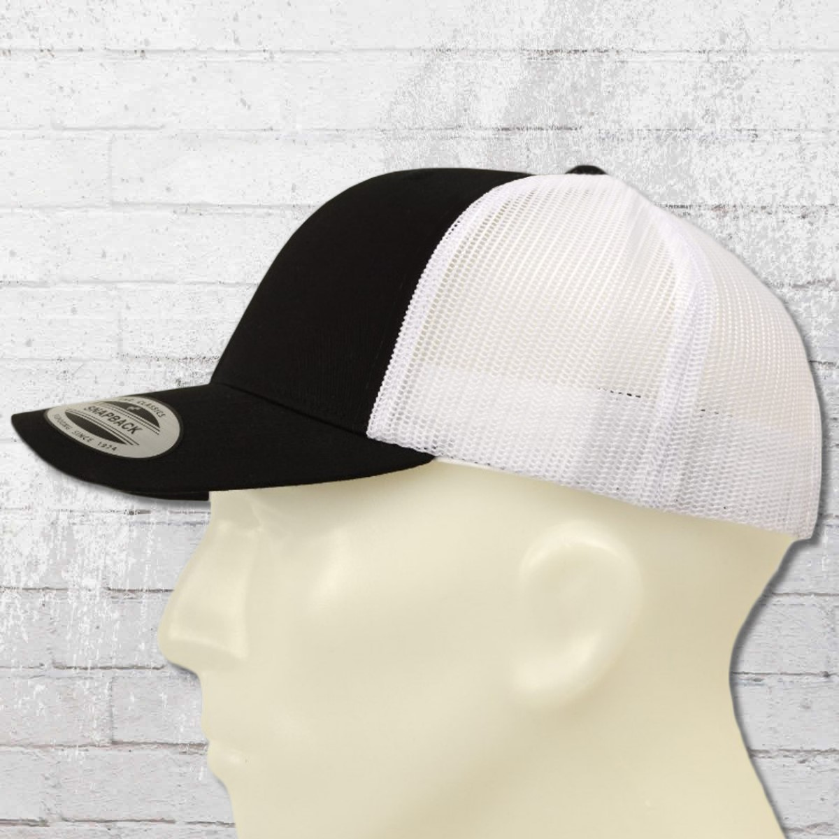 78bb9ffdad3228 Order now | Yupoong by Flexfit Hat Retro Trucker Cap Snapback black ...