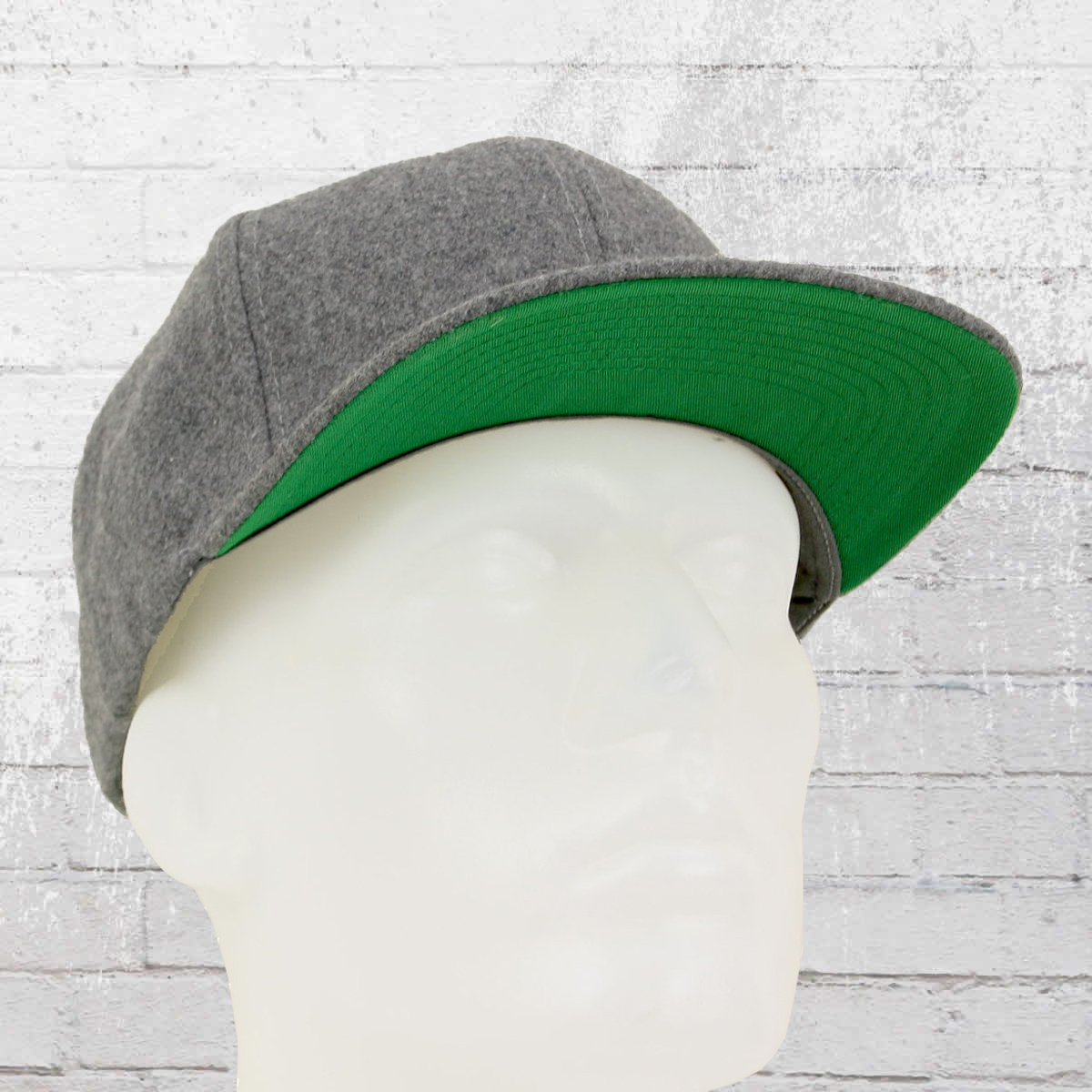 Have you seen  Yupoong by Flexfit Melton Wool Snapback Cap black 6ccbcd9340d1