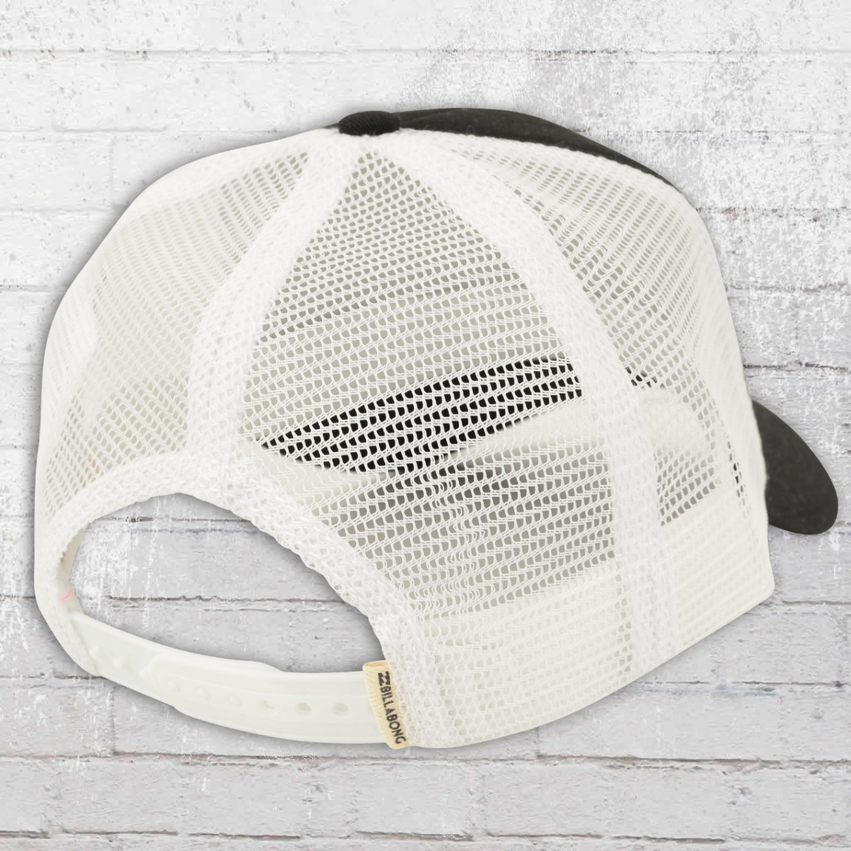 e0a80d5b7d0780 ... wholesale order now billabong cap mesh trucker hat black white 9d433  a291a