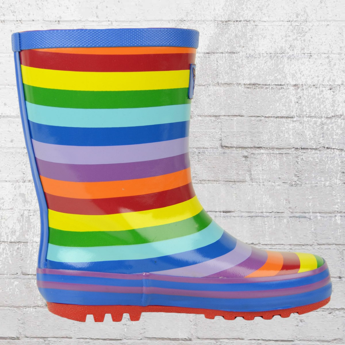 jetzt bestellen evercreatures kinder gummistiefel rainbow bunt krasse. Black Bedroom Furniture Sets. Home Design Ideas