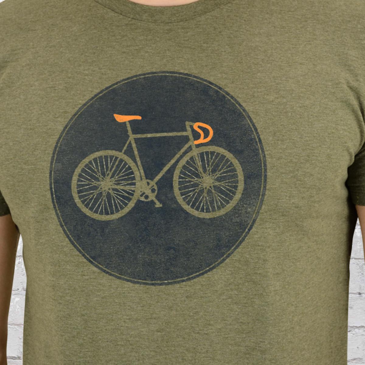 Jetzt bestellen   Greenbomb Fahrrad T-Shirt Rennrad Bike Shield grün ... 07f3e483a5