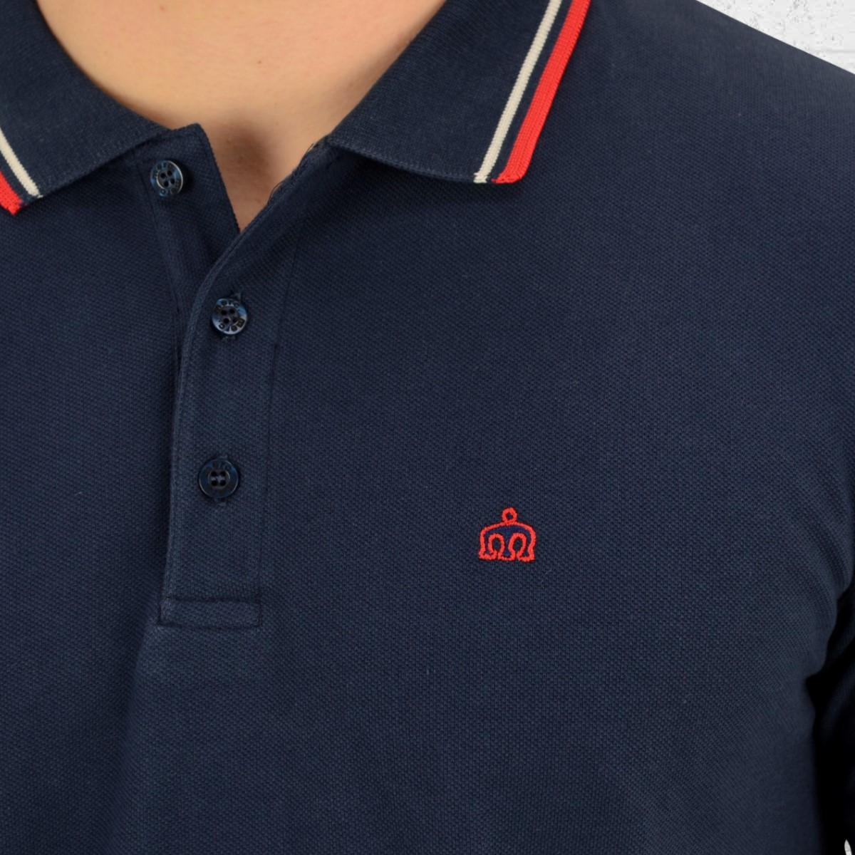 50% off rot weiß blau polo shirt b30eb 7de00