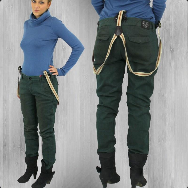jetzt bestellen fuga damen hose mit hosentr ger rain. Black Bedroom Furniture Sets. Home Design Ideas