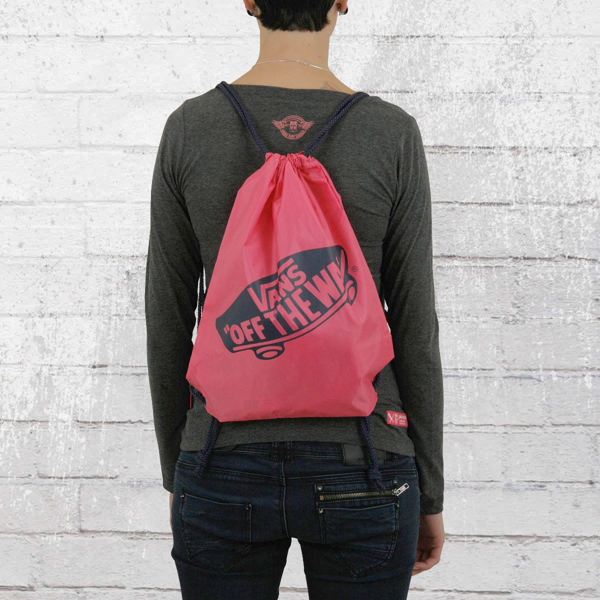 70fade84bd18be Order now   Vans Pouch Benched Gym Bag camelia rose