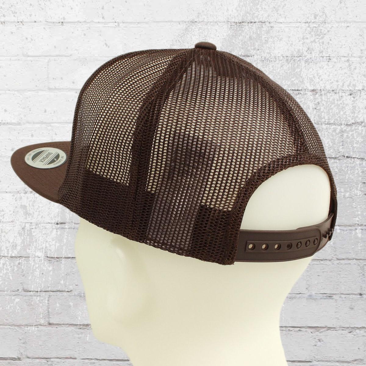 Have you seen  Yupoong Flexfit Classic Trucker Hat Snapback Mesh Cap black  white black 3b6c4b2ff735