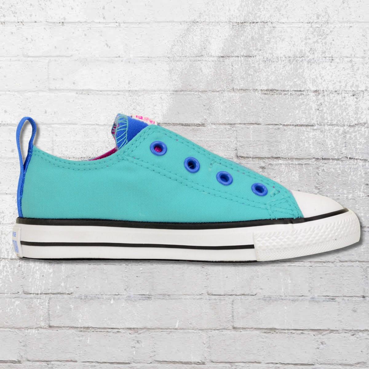 new product a8428 d0721 Jetzt bestellen   Converse Simple Slip Kinder Schuhe blau ...