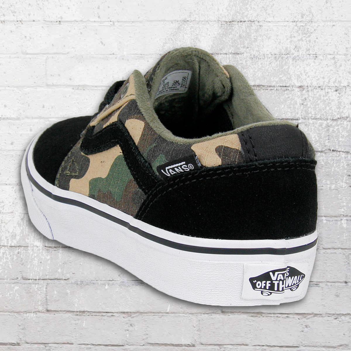 camouflage sneaker herren vans
