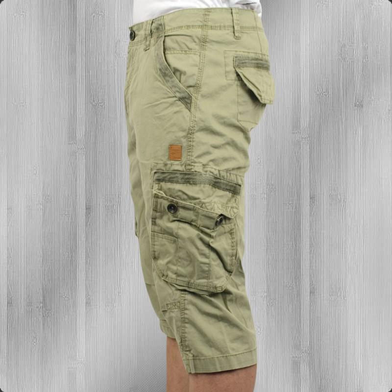 alpha industries imperial 3 4 shorts cargohose light oliv. Black Bedroom Furniture Sets. Home Design Ideas
